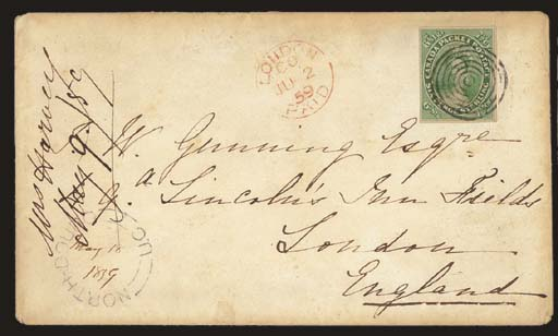 cover 7½d. yellow-green with g