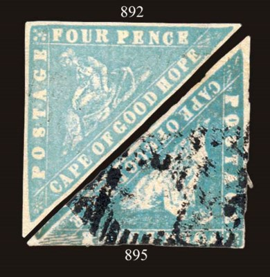 used  4d. pale dull blue with