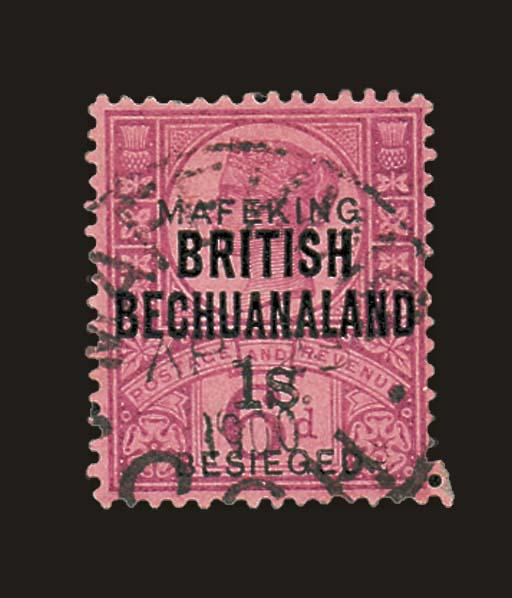 used  1900 sans-serif overprin