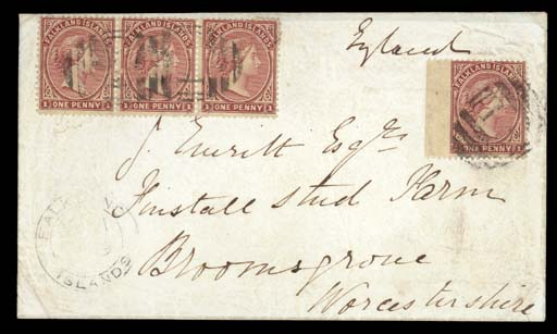 cover 1879 (April) envelope to