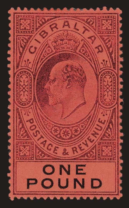 unused  1903 ½d. to £1, very f