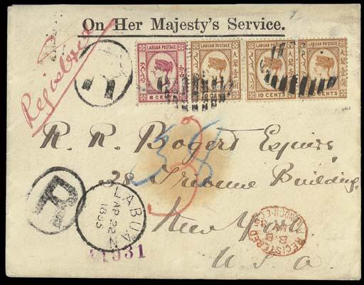cover 1885 (22 Apr.) OHMS enve