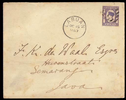 cover 1887 (15 Oct.) envelope