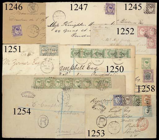 cover 1893 (4 Feb.) envelope r
