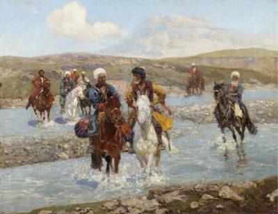 Franz Roubaud (Russian, 1856-1
