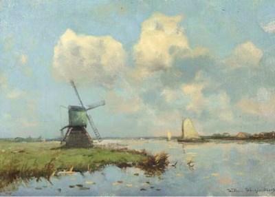 Willem Weissenbruch (Dutch, 18