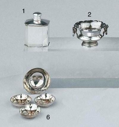 Three Dutch silver miniature c