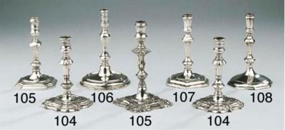 An English George I silver tap
