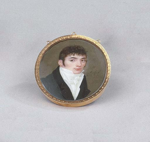 A portrait miniature of Jan Pa