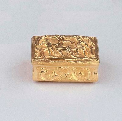 An English gold box