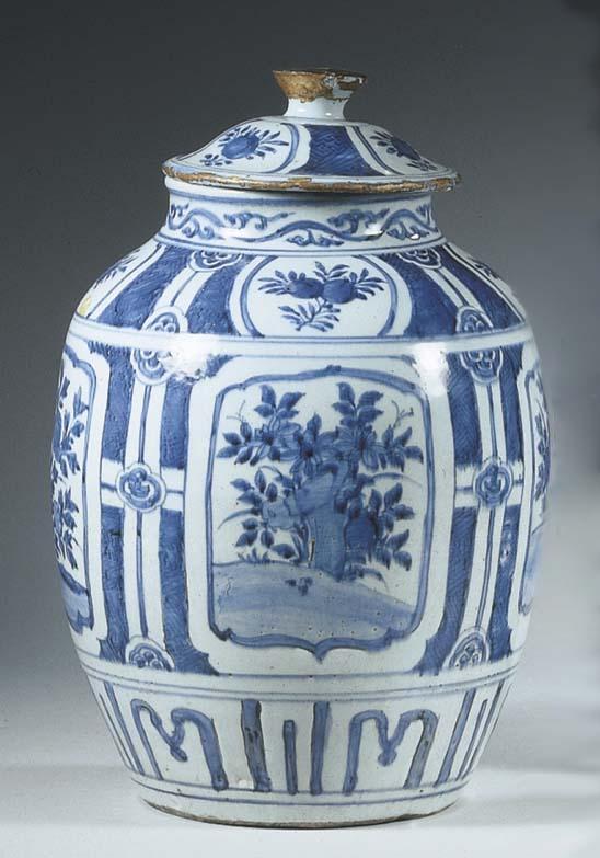A late Ming large 'kraak porse