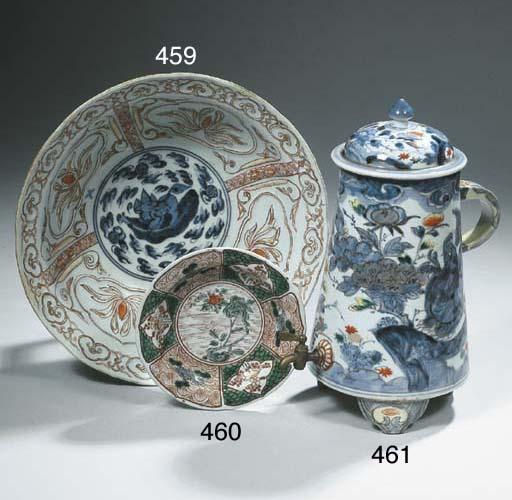 An Arita coffee-urn and cover