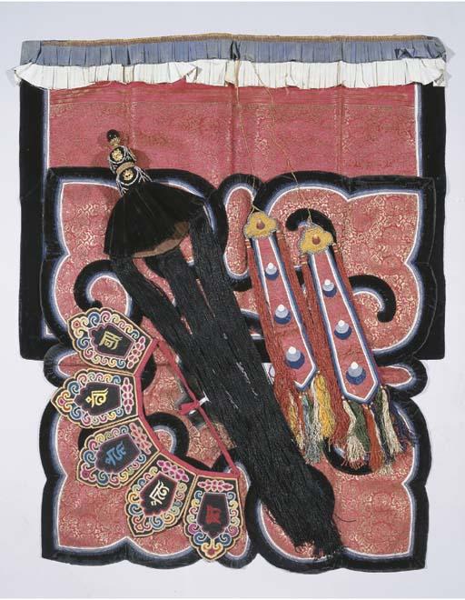 a mongolian initation lama cos