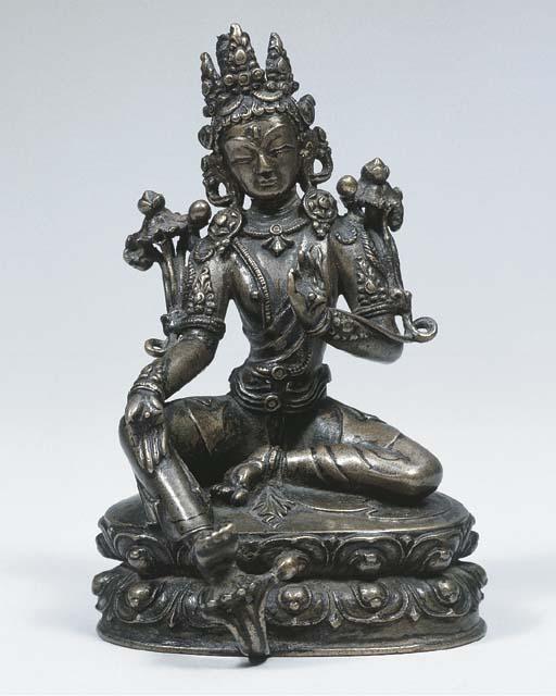 a tibetan bronze figure of sya