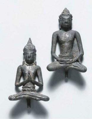 two thai, dvaravati style, sil