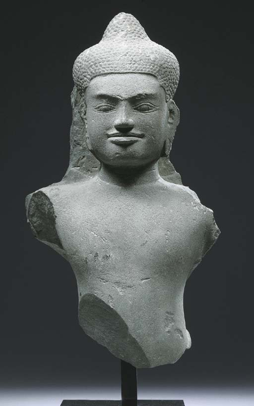 a khmer, baphuon style, grey s