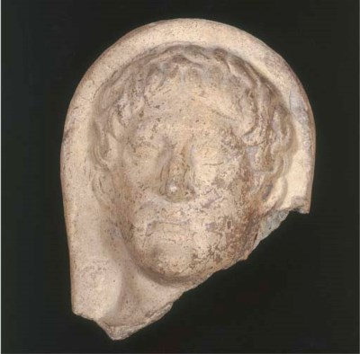 An Etruscan terracotta votile