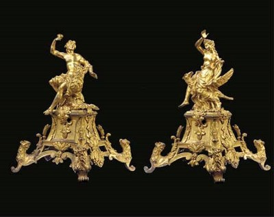 A pair of late Louis XIV ormol