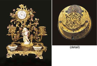 A French ormolu, chinese lacqu