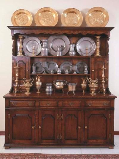An English oak dresser