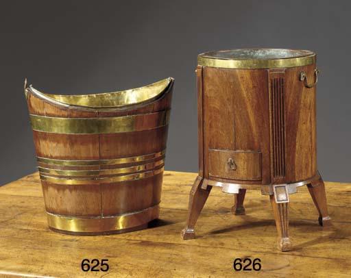 a Dutch brass-banded mahogany