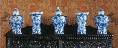 A miniature Dutch Delft blue a