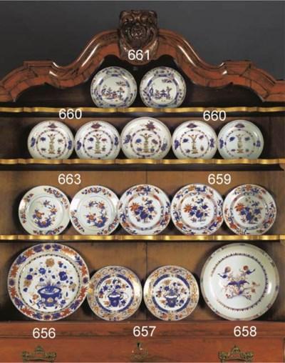 A set of three Chinese Imari p