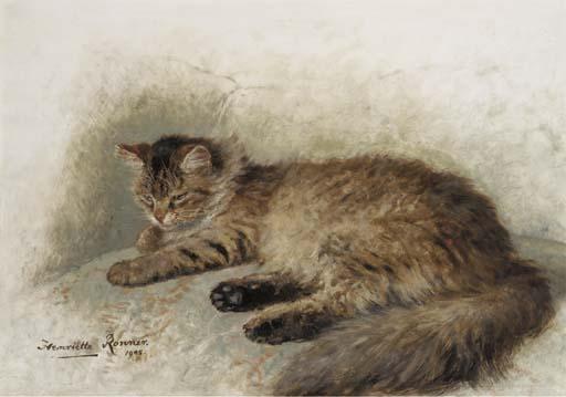 Henriette Ronner (Dutch, 1821-1909)