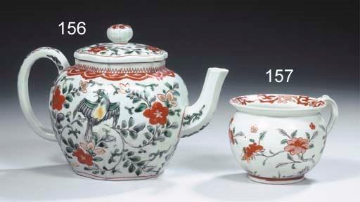 An Arita miniature chamber pot