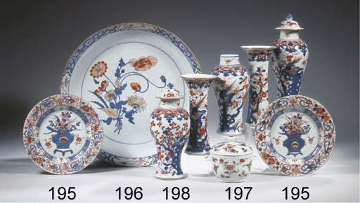 An Imari bowl and cover