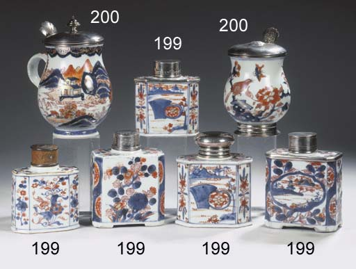 An assorted lot of Imari porce
