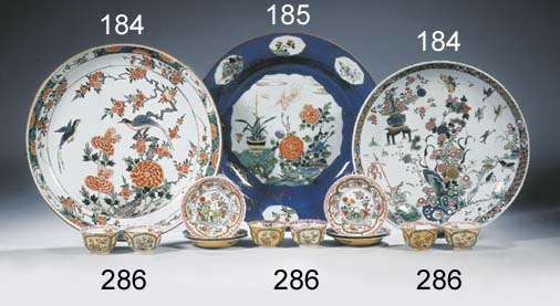 A famille rose and underglaze-
