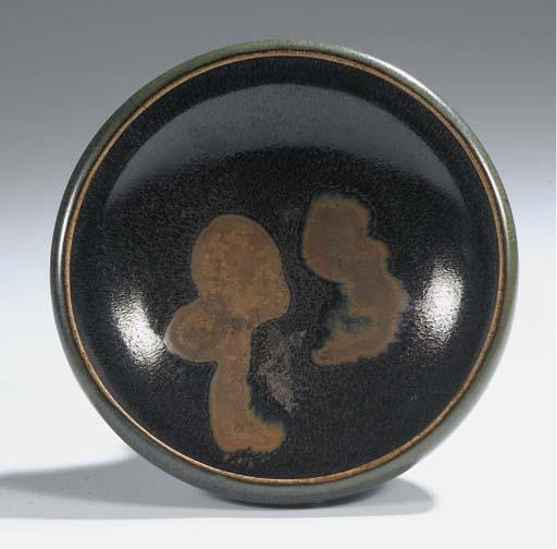 A henan black-glazed bowl