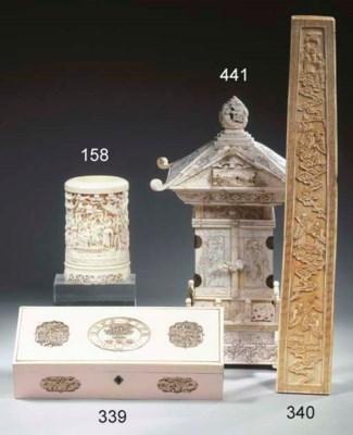 An ivory sceptre, hu