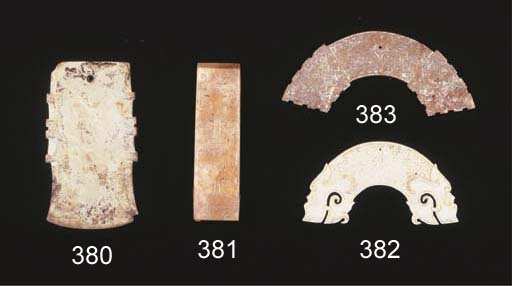 An altered jade axe, fu