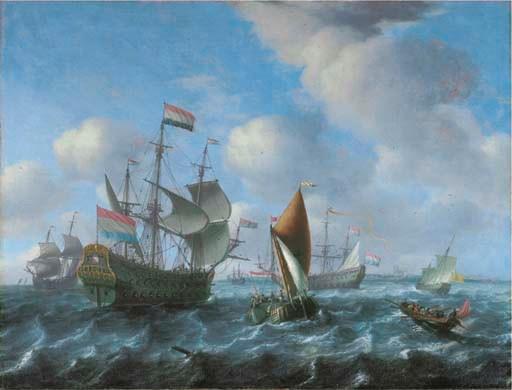 Aernout Smit (? 1641/2-1710 Am