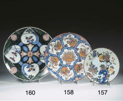 A Dutch Delft polychrome heart
