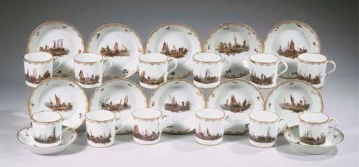 A set of twelve Loosdrecht-Ams