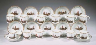 A set of twelve Loosdrecht-Ams