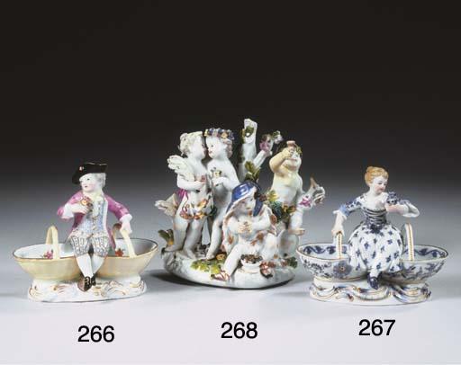 A Meissen porcelain gardener's