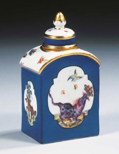 A Meissen porcelain Fabeltiere