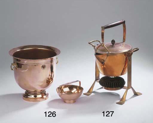 A copper bonbonniere