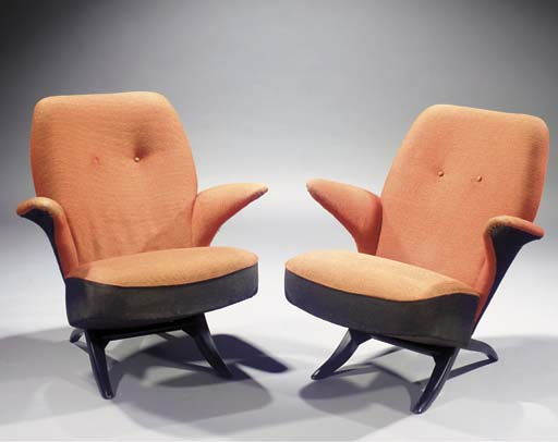 Pinguin, two easy chairs