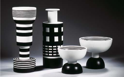 Bitosi, four ceramic objects