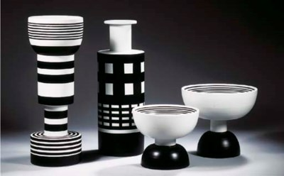 Bitosi, four ceramic objects