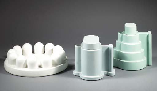 Indian Memories, three ceramic objects