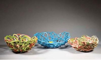 Tutti Frutti, three bowls