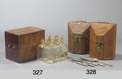 A Victorian mahogany cellaret