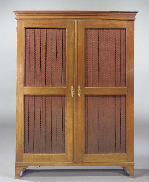 A Dutch oak bookcase