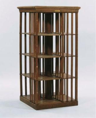 A German oak bookmill